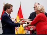 Entrega del bastón de mando en Madrid