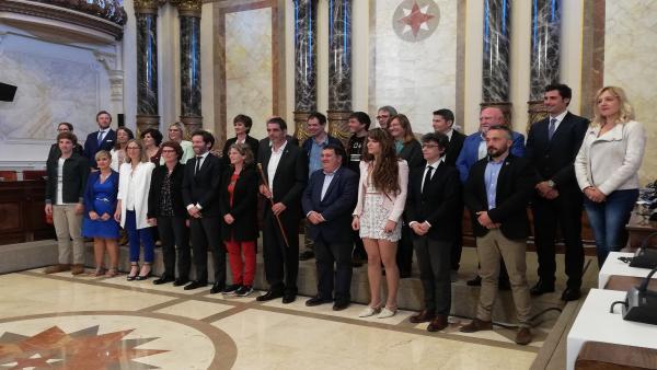 Eneko Goia, reelegido alcalde de San Sebastián con los votos de PNV y PSE-EE