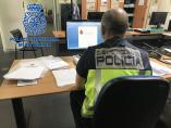LA POLICÍA NACIONAL HA DETENIDO EN ALICANTE A DOS INTEGRANTES DE UNA ORGANIZACIÓN DEDICADA A CONCEDER FALSOS PRÉSTAMOS