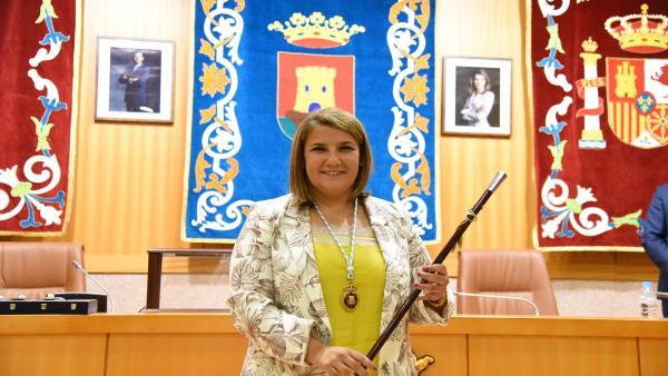 Tita García (PSOE) transmite un mensaje de 'optimismo e ilusión' tras convertirse en alcaldesa de Talavera
