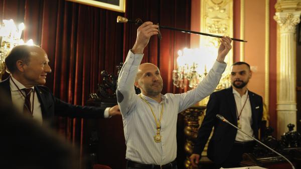 Sesión de constitución del Ayuntamiento de Ourense