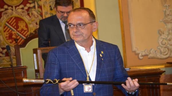 Miquel Pueyo (ERC) anuncia una comisión sobre el 1-O al ser proclamado alcalde de Lleida