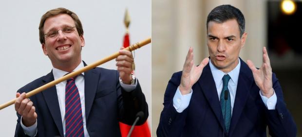 Martínez-Almeida y Pedro Sánchez