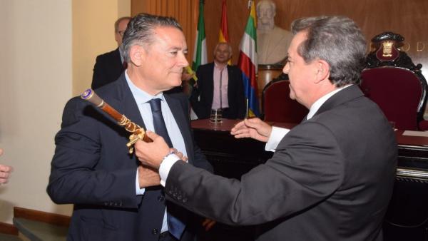 Jaén.- 26M.- Raúl Caro-Accino (Cs) asume la Alcaldía de Linares con el objetivo de 'levantar' la ciudad