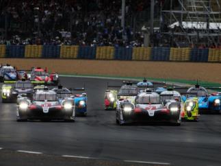 Inicio de las 24 horas de Le Mans