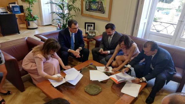 El acuerdo de PP y Cs en Murcia contiene 18 puntos, entre ellos el proyecto 'Murcia 2030'