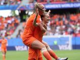 Vivianne Miedema marca en el Mundial