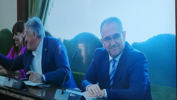 Enrique Maya repite en el cargo después de ser alcalde de Pamplona entre 2011 y 2015