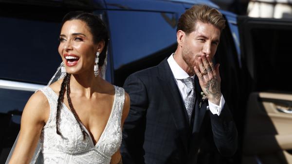 Pilar Rubio y Sergio Ramos se casan en Sevilla