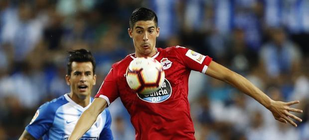 Carlos Fernández, del Deportivo de la Coruña