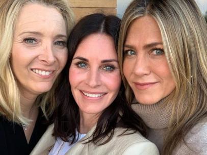 Lisa Kudrow, Courteney Cox y Jennifer Aniston