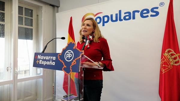 PP de Navarra dice que 'no consentirá' que el PNV 'condicione la investidura de Sánchez a cambio de vender Navarra'