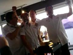 La fiesta de Fernando Alonso en Le Mans