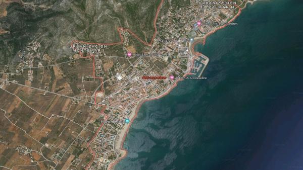 Castellón.- Sucesos.- Rescatado un hombre de 75 años con síntomas de ahogamiento en una playa de Alcossebre