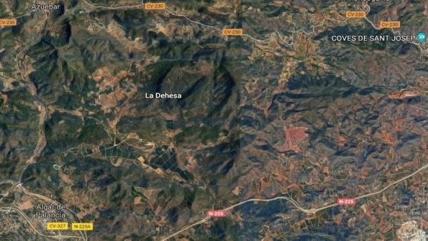 Castellón.- Sucesos.- Evacuado en helicóptero un ciclista al caer en la montaña entre Alfondeguilla y Algar del Palancia