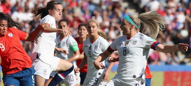 Estados Unidos gana a Chile en el Mundial femenino