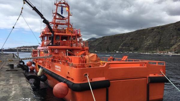 Sucesos.- Concluye sin éxito el segundo día de búsqueda del hombre desaparecido en la costa de Arona (Tenerife)