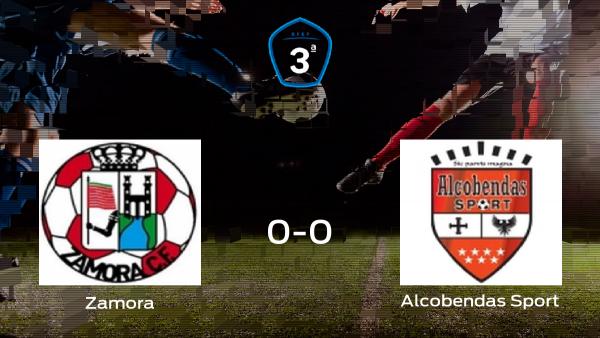 El Zamora y el Alcobendas Sport empatan a cero en la vuelta de los playoff