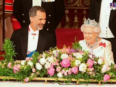 Felipe VI e Isabel II