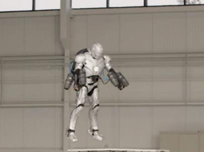 Traje de Iron Man real