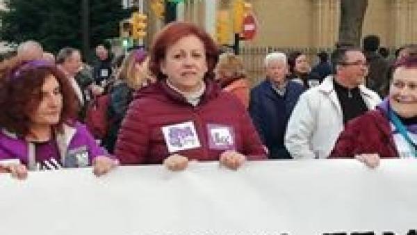 La secretaria de política municipal de IU rechaza el 'acoso y escarnio' al que la dirección somete a los concejales