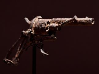El arma de un suicidio histórico