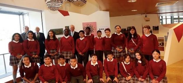 Más de 200 escolares vascos de 6 a 12 años exhiben sus obras en el Guggenheim Bilbao hasta el 15 de septiembre