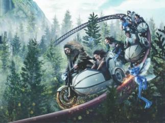 Montaña rusa 'Hagrid' de Harry Potter