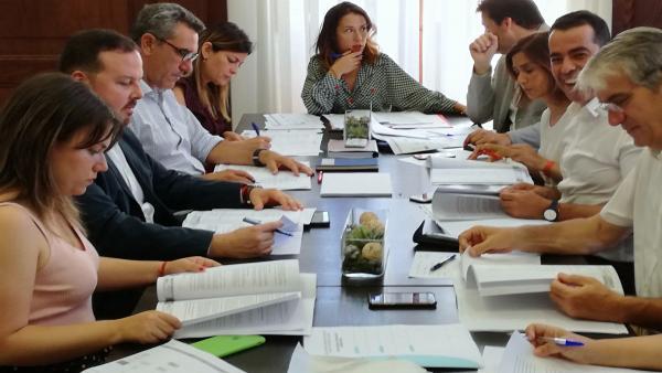Patricia Hernández cierra su organigrama en Santa Cruz y Cs gestionará la Sociedad de Desarrollo, Urbanismo y Cultura