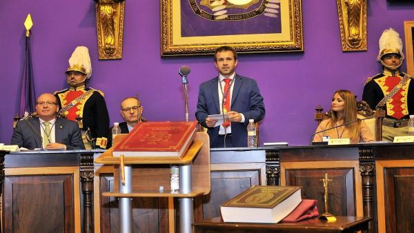 Julio Millán (PSOE), nuevo alcalde de Jaén con el apoyo de Ciudadanos