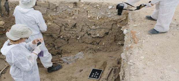 Memoria.- Comienzan este martes los trabajos para localizar en Cádiz los restos de salmantino asesinado en 1936