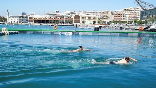 Valencia.- Abre en la Marina la primera piscina natural de la ciudad