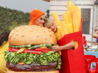 Katy Perry y Tailor Swift