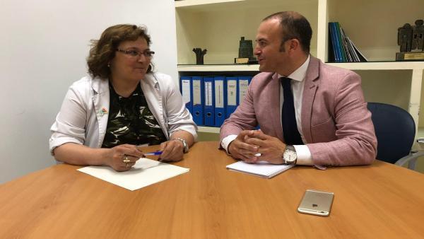 Huelva.- Díaz (Cs) defiende la 'necesidad' del duplicado de las tarjetas sanitarias de menores con padres separados