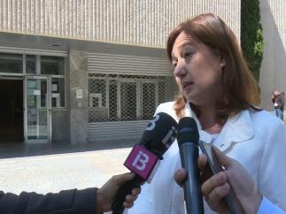 Armengol dice que las negociaciones 'van muy bien' e insiste en que el acuerdo programático 'está prácticamente cerrado'