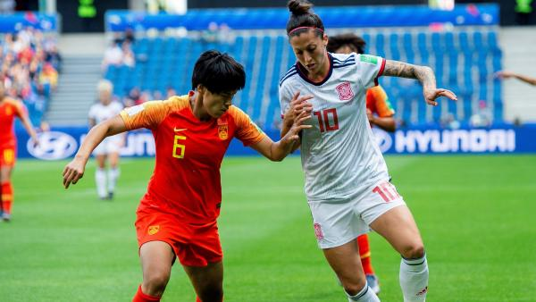 Jennifer Hermoso ante China