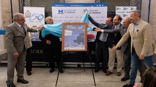 Huelva.- Diputación destaca la labor del Club Marítimo como institución crucial para el deporte y la sociedad onubense