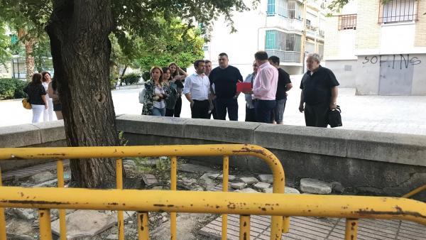 Jaén.- El alcalde se compromete a priorizar la mejora de mantenimiento en barrios como 'clave básica' de calidad de vida