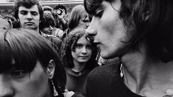Rolling Stones concert. William Klein
