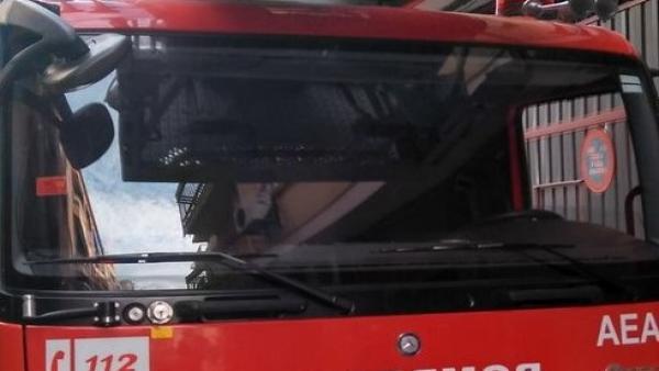 Dos afectados por inhalación de humo en el incendio de una nave de aperos de labranza en Torreblascopedro (Jaén)