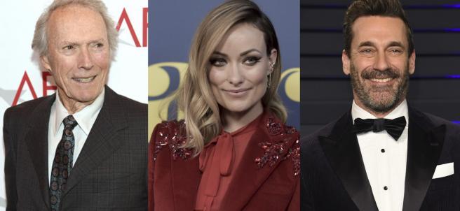 Clint Eastwood, Olivia Wilde y Jon Hamm