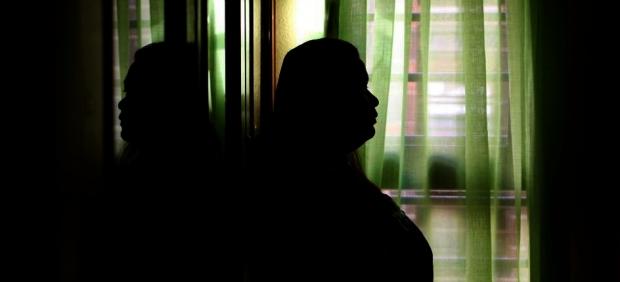 María, solicitante de asilo en España.