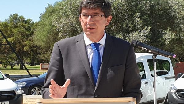 Granada.- Marín descarta que Vox entre en el gobierno de Granada para evitar una moción de censura