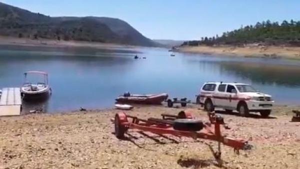 La búsqueda del hombre desaparecido en el embalse del Cíjara 'está siendo difícil' porque tiene 'mucha profundidad'