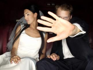 Novios, boda