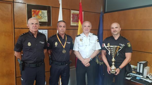 El equipo de tiro de la Policía Nacional de Canarias se proclama campeón de España