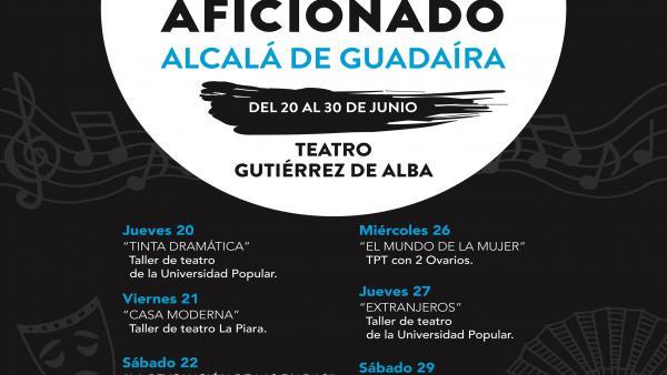 Sevilla.- La 'Muestra de Teatro Aficionado de Alcalá' llena de esfuerzo y talento el escenario del Gutiérrez de Alba