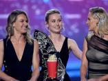 Brie Larson en los MTV Movie & TV Awards