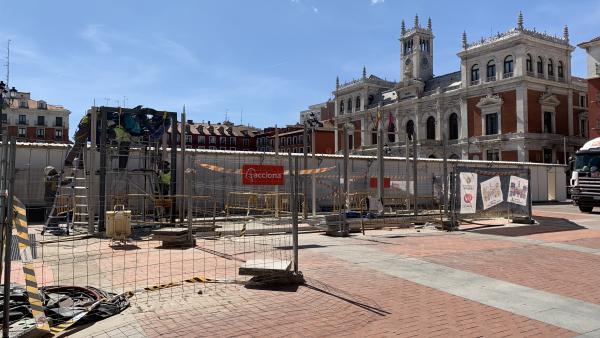 Saravia reconoce que el retraso del aparcamiento de la Plaza Mayor es 'demasiado largo' y se analizará el contrato