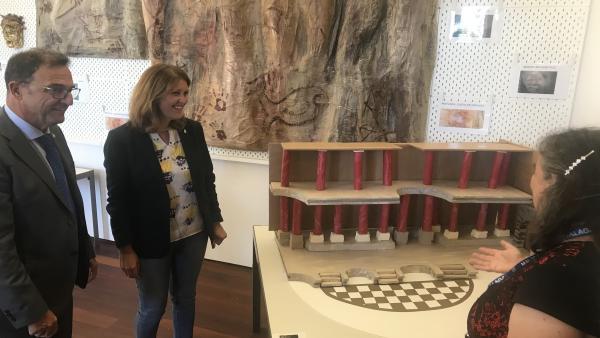 Málaga.-Museo de Málaga acoge un proyecto de integración de personas con problemas de salud mental del Hospital Regional